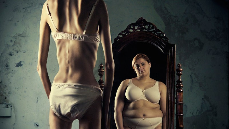 anorexia from excessive dieting